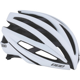 BBB Icarus BHE-05 Kask rowerowy, white matte